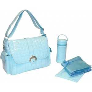 Сумка для мамы Kalencom Buckle bag monique (powder blue)