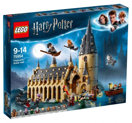 Конструктор LEGO Harry Potter 75954 Большой зал Хогвартса