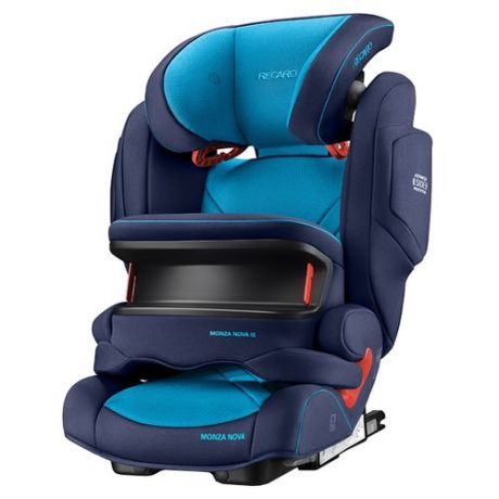 Автокресло группа 1/2/3 (9-36 кг) Recaro Monza Nova IS Seatfix, Xenon Blue