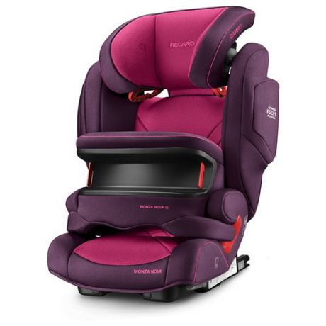 Автокресло группа 1/2/3 (9-36 кг) Recaro Monza Nova IS Seatfix, Power Berry