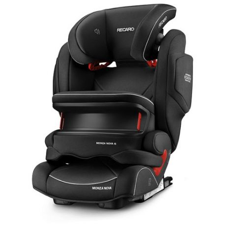 Автокресло группа 1/2/3 (9-36 кг) Recaro Monza Nova IS Seatfix, Performance Black