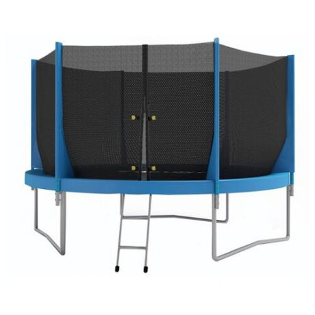 Каркасный батут Optifit Jump 8ft 244х244х215 см синий