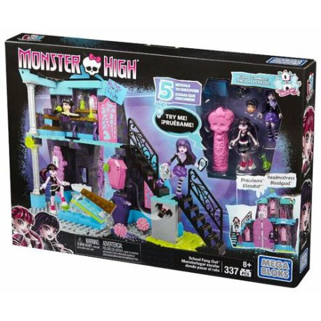 Конструктор Mega Bloks Monster High DPK34 Прочь из школы