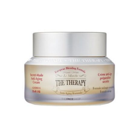 Крем TheFaceShop The Therapy Secret-Made для лица 50 мл