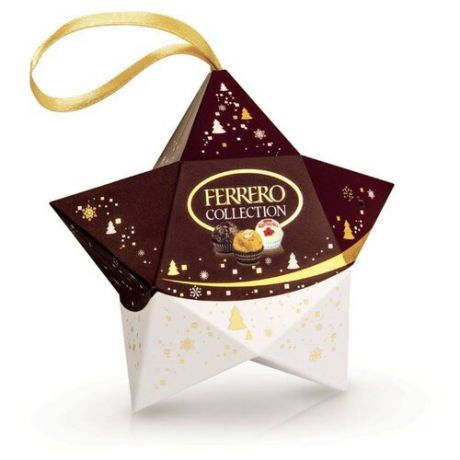 Набор конфет Ferrero Rocher Collection Звезда 32 г