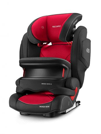 Автокресло Recaro Monza Nova is Seatfix Racing Red 6148.21509.66