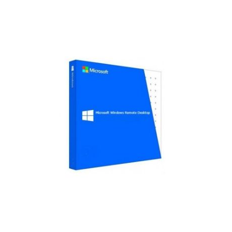 Операционная система MICROSOFT Windows Rmt Dsktp Svcs CAL 2019 MLP 5 Device CAL, 64 bit, Eng, BOX [6vc-03804]