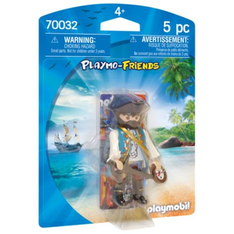 Набор с элементами конструктора Playmobil Playmo-Friends 70032 Пират