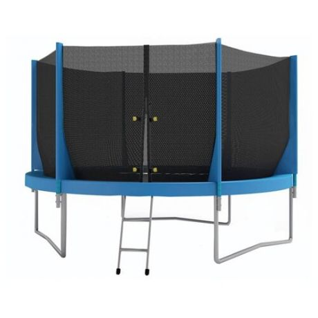 Каркасный батут Optifit Jump 6ft 183х183х215 см синий