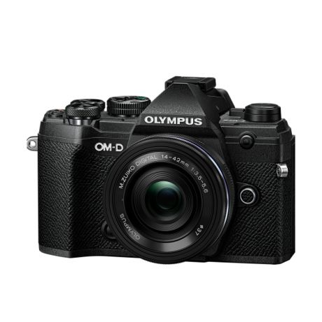 Фотоаппарат Olympus OM-D E-M5 Mark III Pancake Zoom Kit с объективом 14-42 EZ черный (V207090BE030)