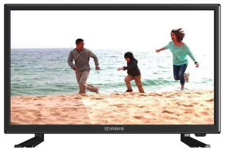 "Телевизор IRBIS 22S30FA103B, 22"", 1920x1080, 16:9, Analog (PAL/SECAM), Input (AV RCAx2, USB, VGA, HDMI, PC audio), Output (3,5 mm), Black"
