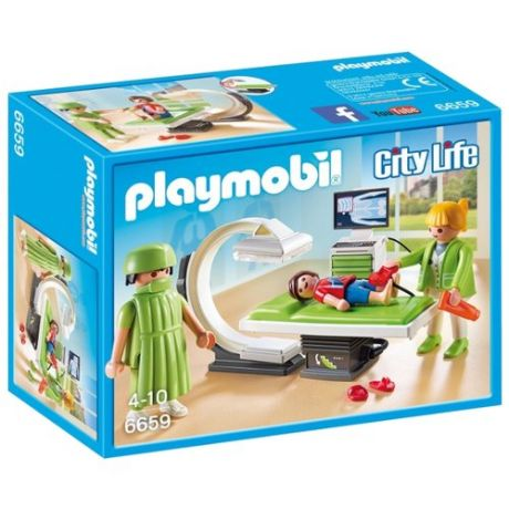 Набор с элементами конструктора Playmobil City Life 6659 Рентгеновский кабинет