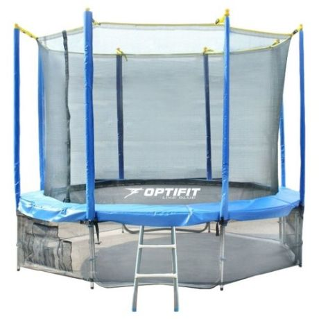 Каркасный батут Optifit Like 10ft 305х305х240 см синий