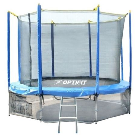 Каркасный батут Optifit Like 12ft 366х366х268 см голубой