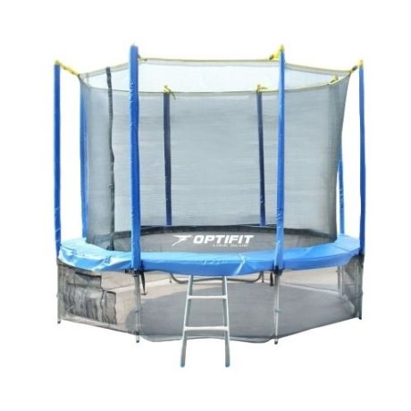 Каркасный батут Optifit Like 14ft 427х427х268 см blue