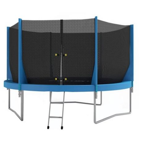 Каркасный батут Optifit Jump 12ft 366х366х245 см синий