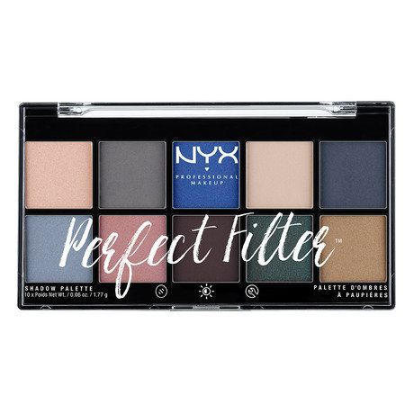 NYX Professional Make Up Perfect Filter Shadow Palette