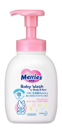 Merries Baby Wash for Body & Hair