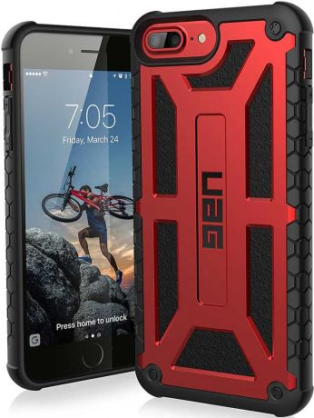 Клип-кейс UAG Monarch iPhone 8 Plus Red