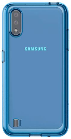 Клип-кейс Araree Samsung Galaxy A01 Blue (GP-FPA015KDALR)