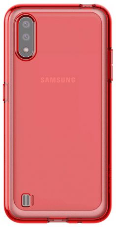 Клип-кейс Araree Samsung Galaxy A01 Red (GP-FPA015KDARR)