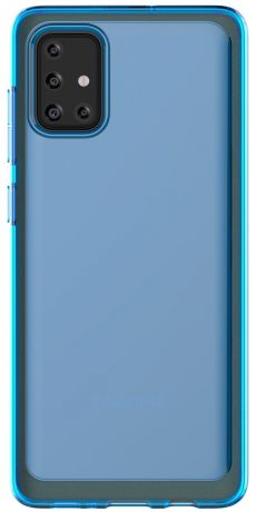 Клип-кейс Araree Samsung Galaxy A71 Blue (GP-FPA715KDALR)
