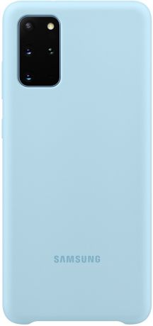 Клип-кейс Samsung Galaxy S20 Plus силиконовый Light Blue (EF-PG985TLEGRU)