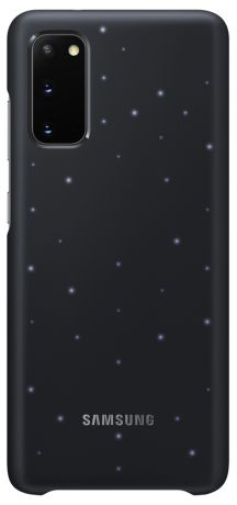 Клип-кейс Samsung Galaxy S20 Smart LED Cover Black (EF-KG980CBEGRU)