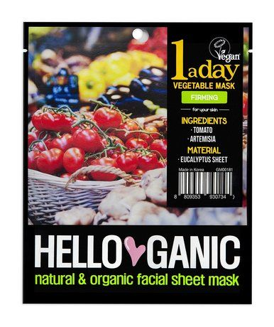 Helloganic 1 a Day Vegetable Firming Mask