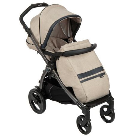 Прогулочная коляска Peg-Perego Book 51 Pop Up Completo Luxe Ecru