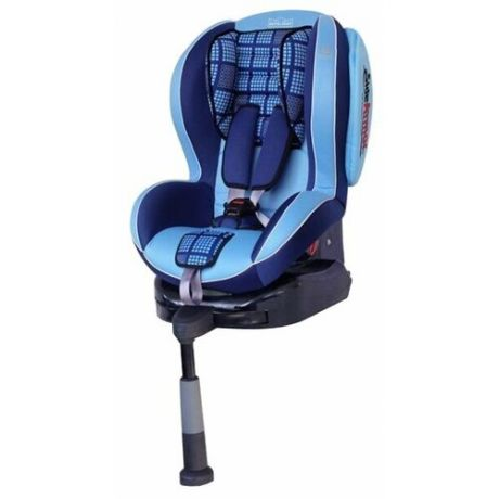 Автокресло группа 1/2 (9-25 кг) Welldon Royal Baby SideArmor & CuddleMe IsoFix, blue