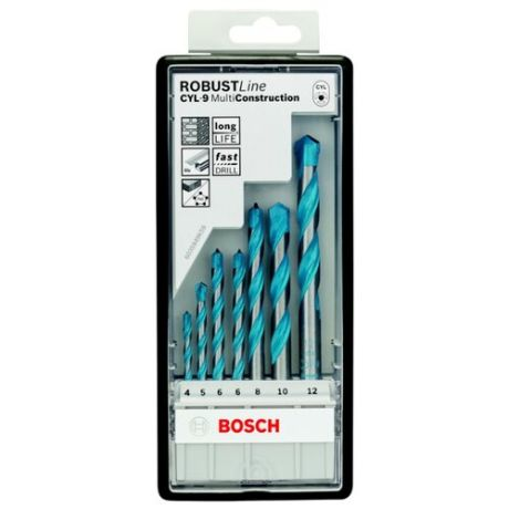 Набор сверл BOSCH Robust Line Multi Construction 2.607.010.543