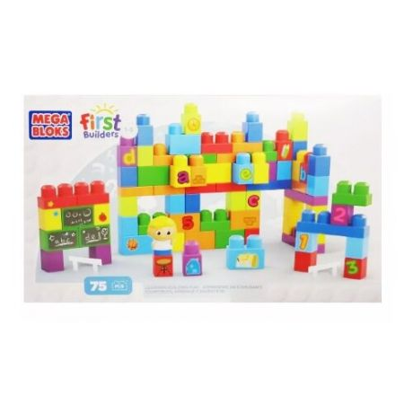 Конструктор Mega Bloks First Builders DBK72 Школьный класс