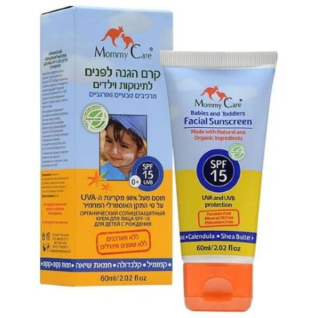 Mommy Care крем Babies and Toddlers Facial, SPF 15, 60 мл