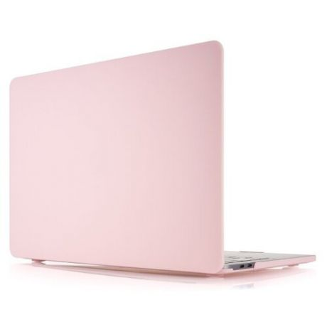 Чехол-накладка vlp Protective plastic case for MacBook Pro 13 with Touch Bar light pink