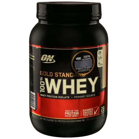 Протеин Optimum Nutrition Gold Standard 100% Whey торт 0,9кг