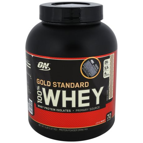 Протеин Optimum Nutrition Gold Standard 100% Whey роки роад 2,3кг
