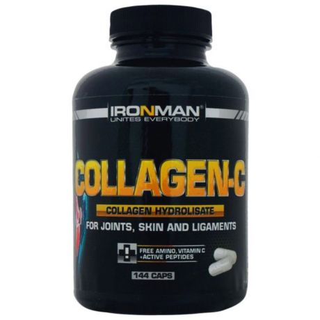 Коллаген Collagen-C Ironman 144 капсул