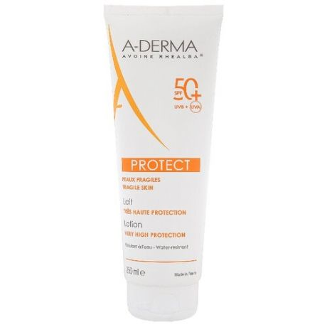 A-Derma Protect солнцезащитный лосьон SPF 50+ 250 мл