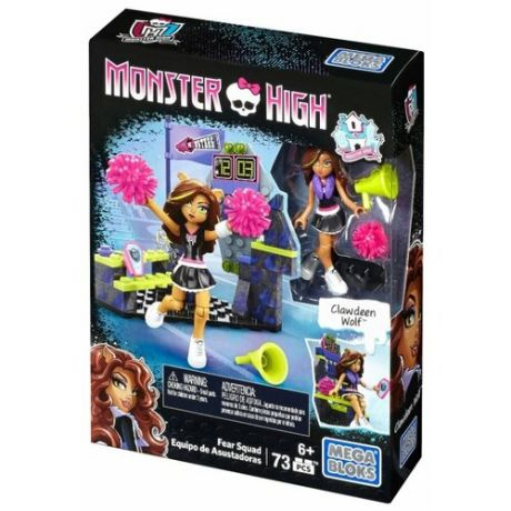 Конструктор Mega Bloks Monster High DLB78 Команда бояльщиц