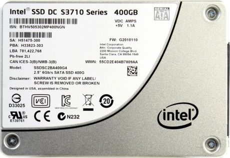 Intel DC S3710 400Gb 2.5""