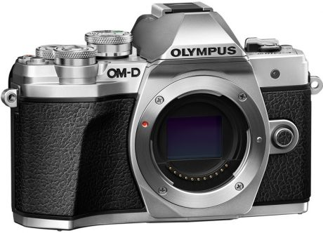 Olympus OM-D E-M10 Mark III Kit ( E-M10 Mark III Body silver + ED 12-200mm F3.5-6.3 black)