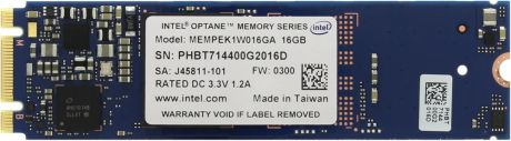 Intel Optane 16Gb M.2