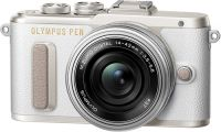 Системный фотоаппарат Olympus E-PL8 White + 14-42 EZ Silver (V205082WE000)