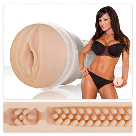 Мастурбатор вагина Fleshlight Signature Lisa Ann Barracuda – телесный