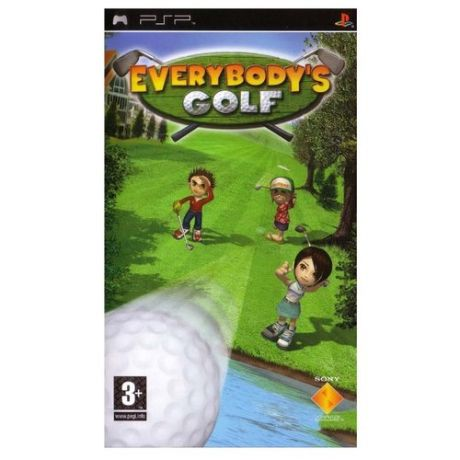 Игра для PlayStation Portable Everybody