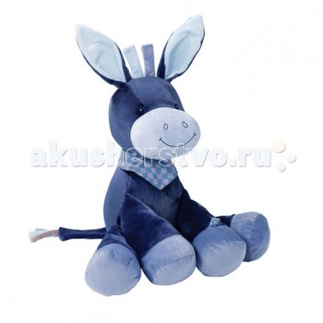 Мягкие игрушки Nattou Soft toy Alex Bibiou Ослик 75 см