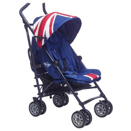 Прогулочная коляска Easywalker Buggy Mini XL Union Jack classic