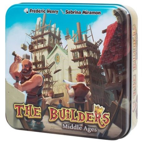 Настольная игра Asmodee The Builders: Middle Ages