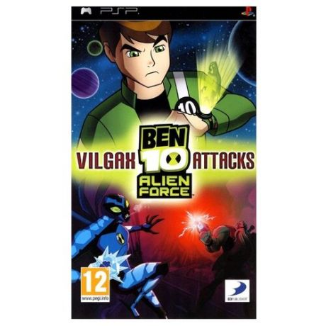Игра для PlayStation Portable Ben 10: Alien Force - Vilgax Attacks